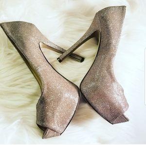 Enzo Angiolini Shimmering Stilettos